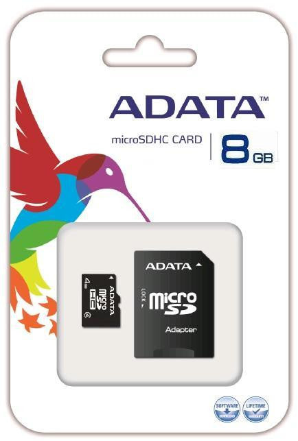 8GB MICRO SD - LONG PACKAGING