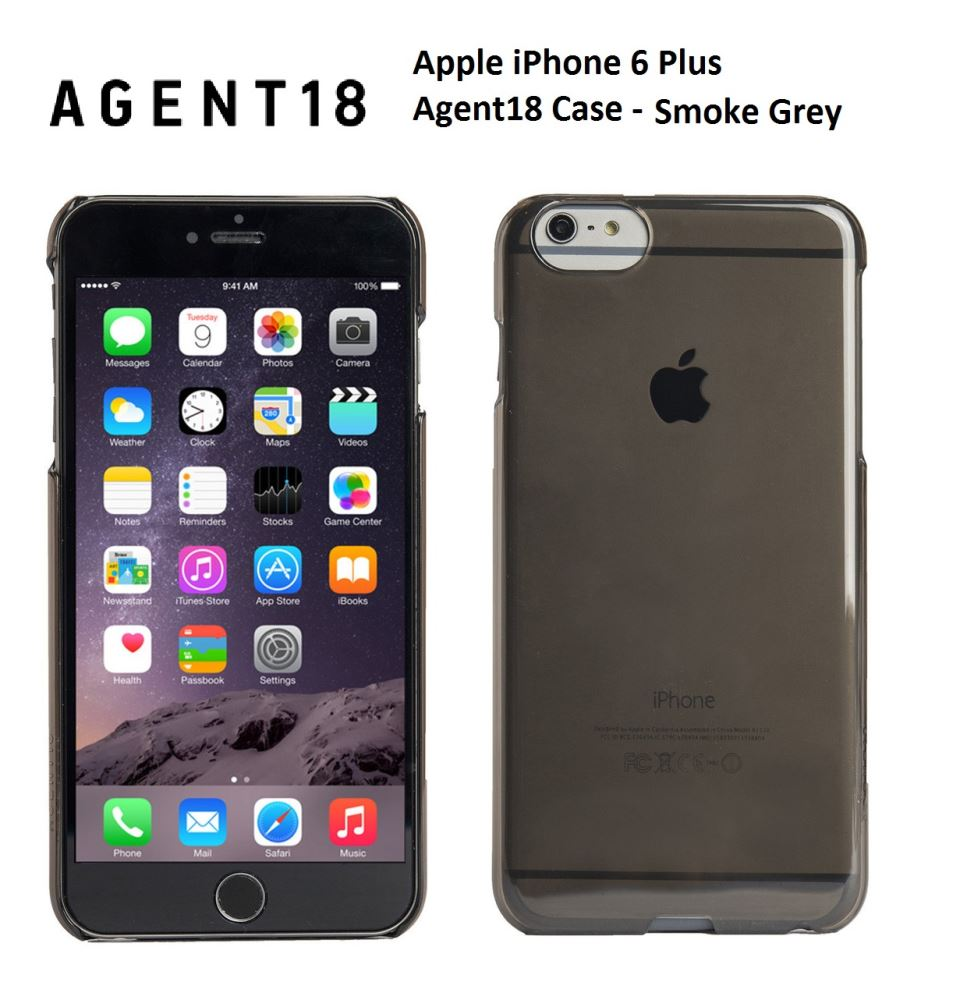 super popular 8954c 929fc Apple iPhone 6 Plus Agent18 Smoke Grey Case A113SL-011
