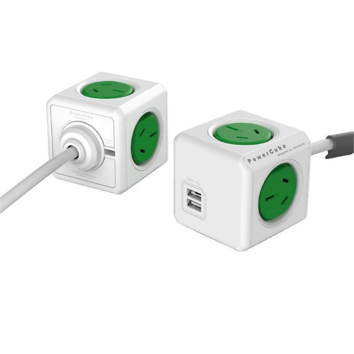 Allocacoc_PowerCube_4-Way_3m_Surge_Protector_with_2_x_USB_-_Green_5404AUEUPCGREEN_PROFILE_PIC_SDXOPT8RKU12.jpg