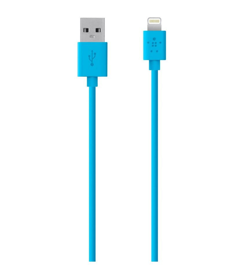 Belkin Lightning Charge Sync Cable F8J023BT04-BLU