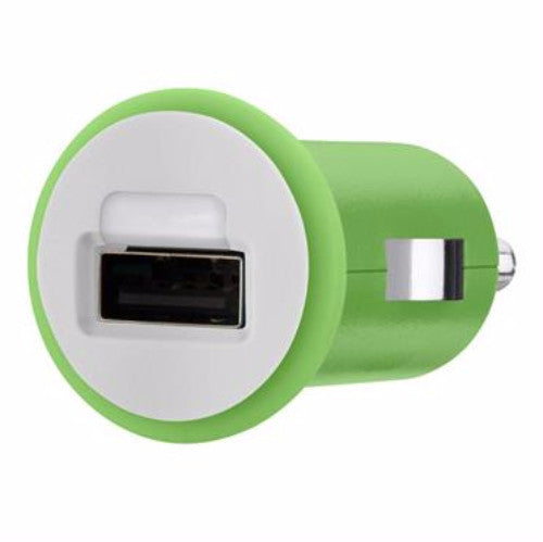 Belkin MIXIT UP 2.1A Micro Car Charger Green 3