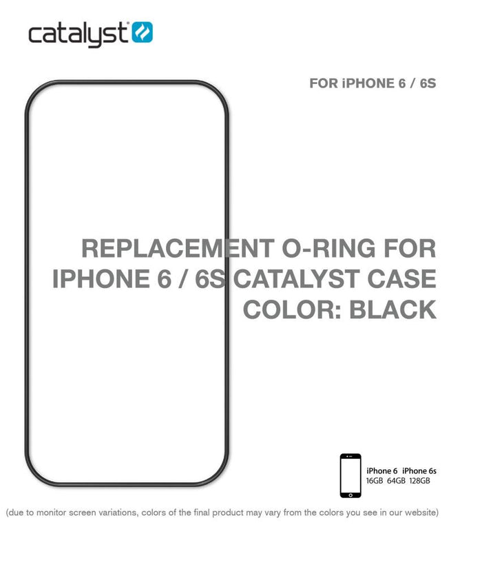 CATALYST  Replacement O-Ring for 66S (Black) CATORIBLK6 Black