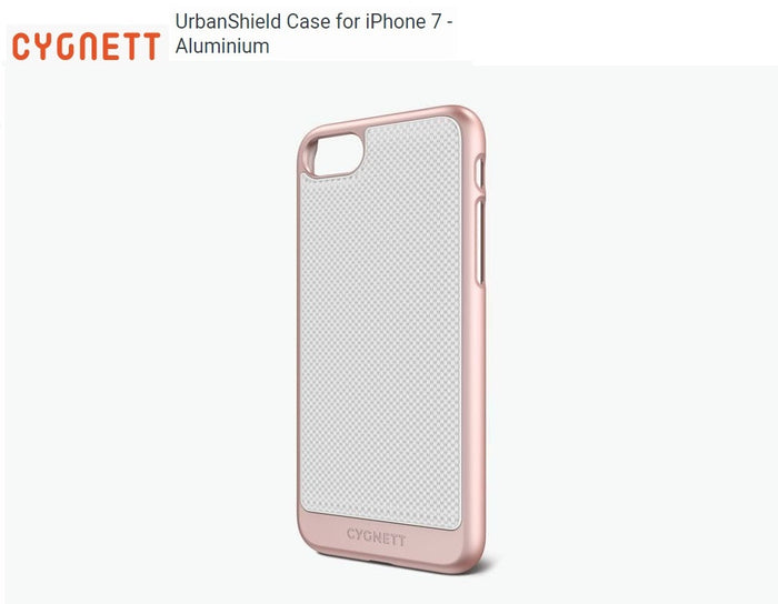 Cygnett UrbanShield Aluminium Case for iPhone 7 - Rose Gold CY1970CPURB