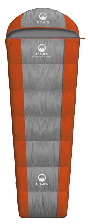 Domex_Silver_Fern_5_Below_Sleeping_Bag_X-Tall_(Right)_-_Orange__Grey_SILV5S-R_PROFILE_PIC_S4ROOUO58FBW.jpg