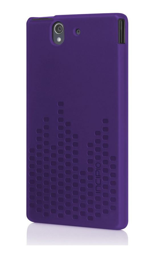 Frequency Case for Sony Xperia Z Purple 1