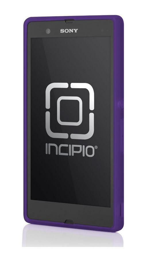 Frequency Case for Sony Xperia Z Purple 2