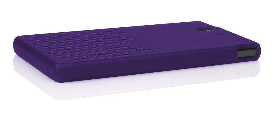 Frequency Case for Sony Xperia Z Purple 4