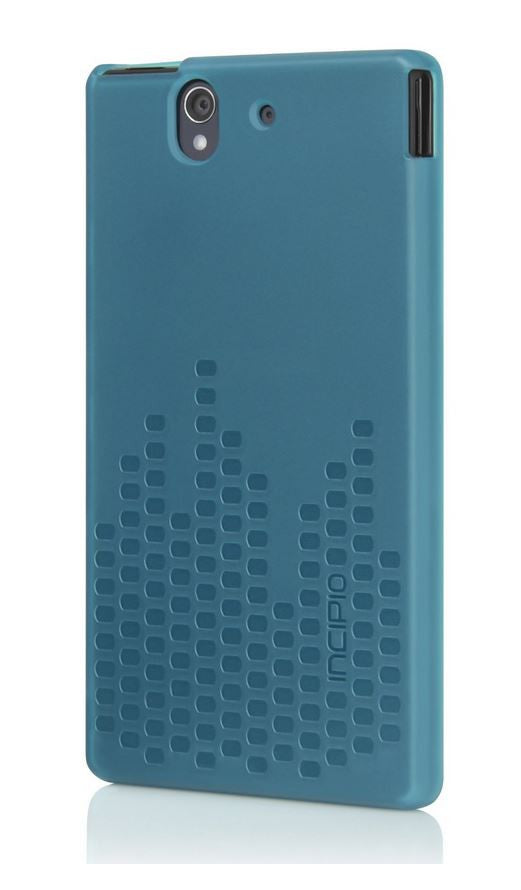 Frequency Case for Sony Xperia Z Translucent Turquoise Blue 1