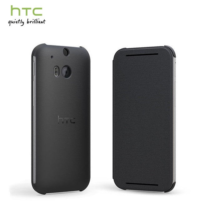 Genuine HTC M8 Flip case - Black 99H11420-00 1