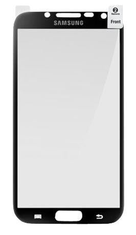 Genuine Samsung Note 2 Screen Protector - Black Bezel 1
