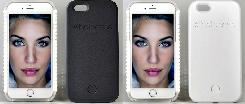 HALO CASE LED SELFIE CASE FOR IPHONE 6 6S PROFILE PIC