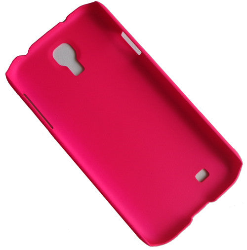 Hot Pink rubber hard case (2)