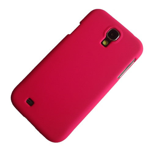 Hot Pink rubber hard case (3)