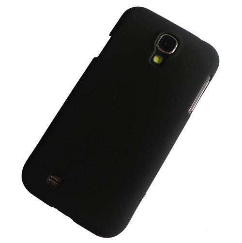 I9500 black rubber hard case (1)