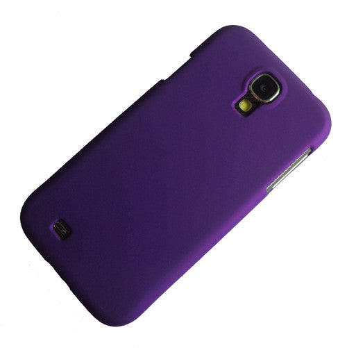 I9500 purple rubber hard case (1)