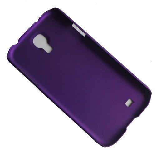 I9500 purple rubber hard case