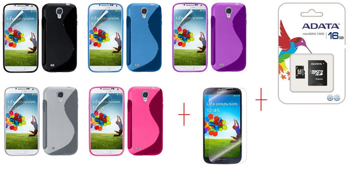I9500 s line tpu gel case - GEL CASE ALL + SP + 16GB MICROSD CARD