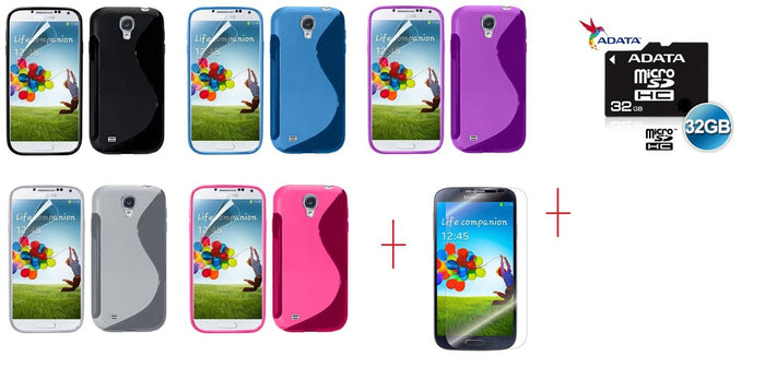 I9500 s line tpu gel case - GEL CASE ALL + SP + 32GB MICROSD CARD