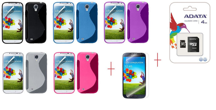 I9500 s line tpu gel case - GEL CASE ALL + SP + 4GB MICROSD CARD