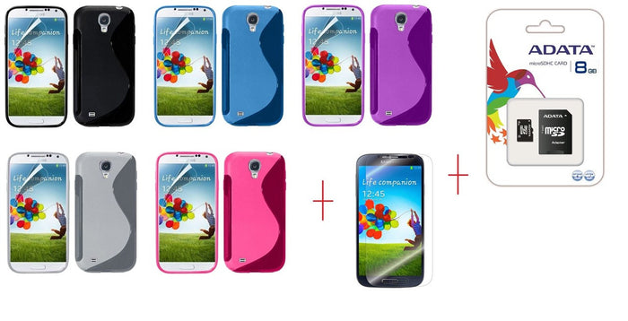 I9500 s line tpu gel case - GEL CASE ALL + SP + 8GB MICROSD CARD