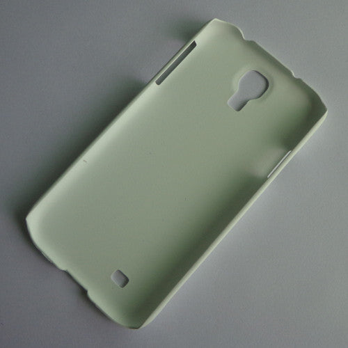 I9500 white rubber hard case (1)