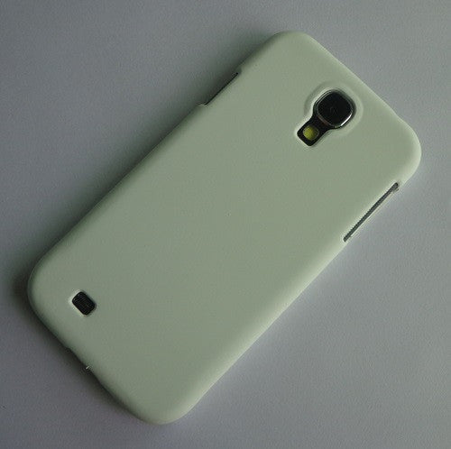 I9500 white rubber hard case (2)