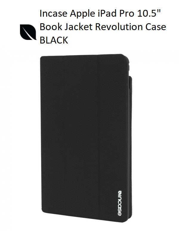 Incase Book Jacket Revolution for iPad Pro 10.5 - Black INPD200307-BLK
