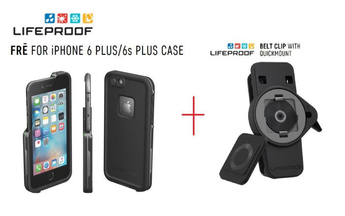 LifeProof Fre Case Apple iPhone 6S Plus PLUS LifeProof LifeActiv Belt Clip with QuickMount