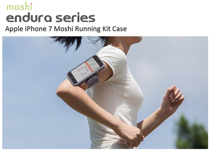 MOSHI Running Kit for iPhone 7 (Black) 99MO086009 0