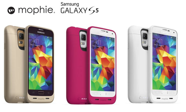 new product 8a5df b5017 Mophie Juice Pack for Samsung Galaxy S5 Gold; Pink; or White