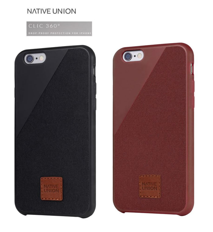 NATIVE UNION Clic 360 Canvas Case for IPhone 6 6S PLUS PROFILE PIC