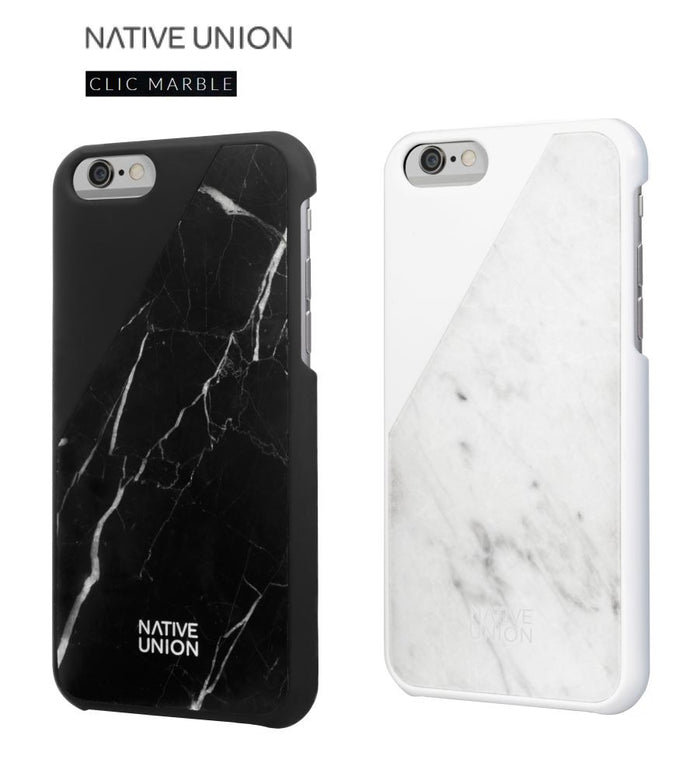 NATIVE UNION Clic Marble Case for iPhone 6 6S Profile Pic