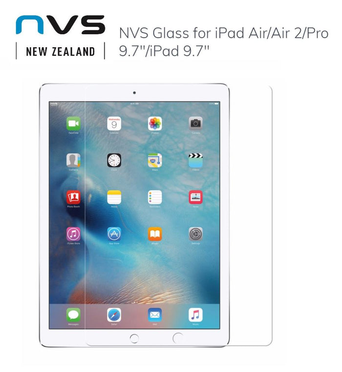 NVS Glass for iPad Air Air 2 Pro 9.7 iPad 9.7 Clear NGL-006