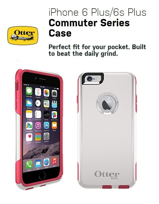 OTTERBOX COMMUTER SERIES FOR APPLE IPHONE 6 PLUS Neon Rose 77-50319 PROFILE PIC