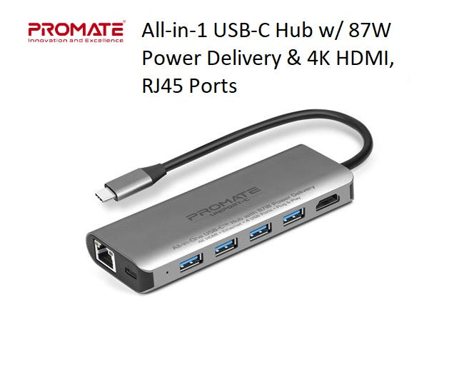 PROMATE_All-in-1_USB-C_Hub_w_87W_Power_Delivery_&_4K_HDMI,_RJ45_Ports_UNIPORT-C.GRY_PROFILE_PIC_S3SFVAVQIWQG.jpg