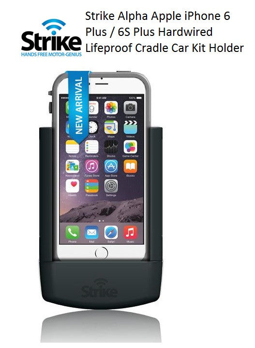 STRIKE GROUP Strike Alpha Apple iPhone 6 Plus Car Cradle for LifeProof Case AL-STKAPPIP6PL-LP 1