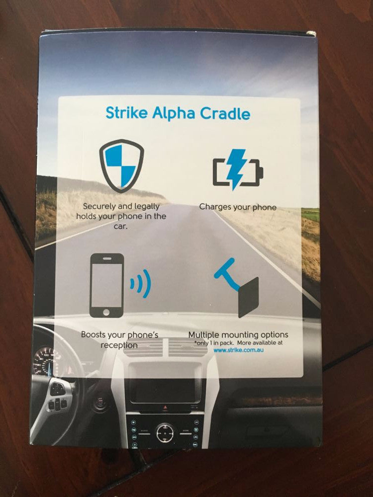 STRIKE GROUP Strike Alpha Apple iPhone 6 Plus Car Cradle for LifeProof Case AL-STKAPPIP6PL6