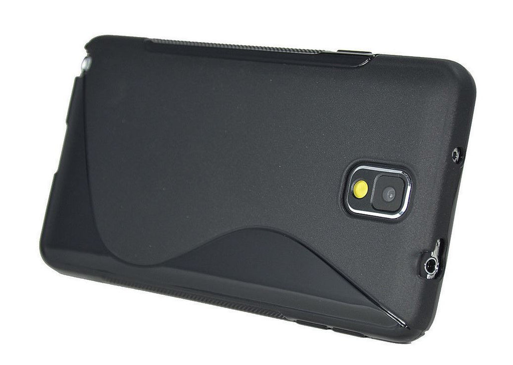 Samsung Galaxy Note 3 Gel Case Black 3