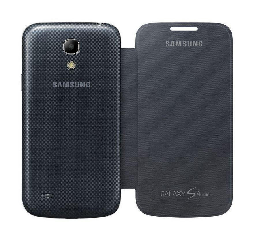 Samsung Galaxy S4 mini Genuine Samsung Cover - Black 3