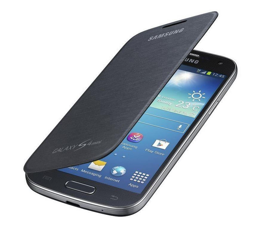 Samsung Galaxy S4 mini Genuine Samsung Cover - Black 4