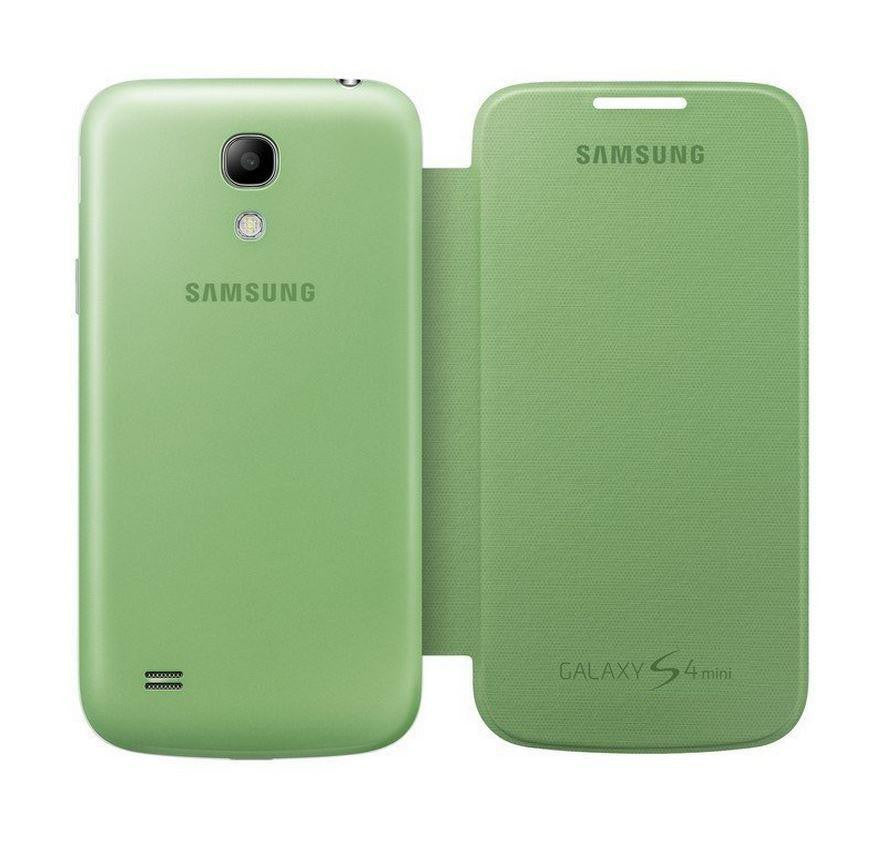 Samsung Galaxy S4 mini Genuine Samsung Cover - Green 3