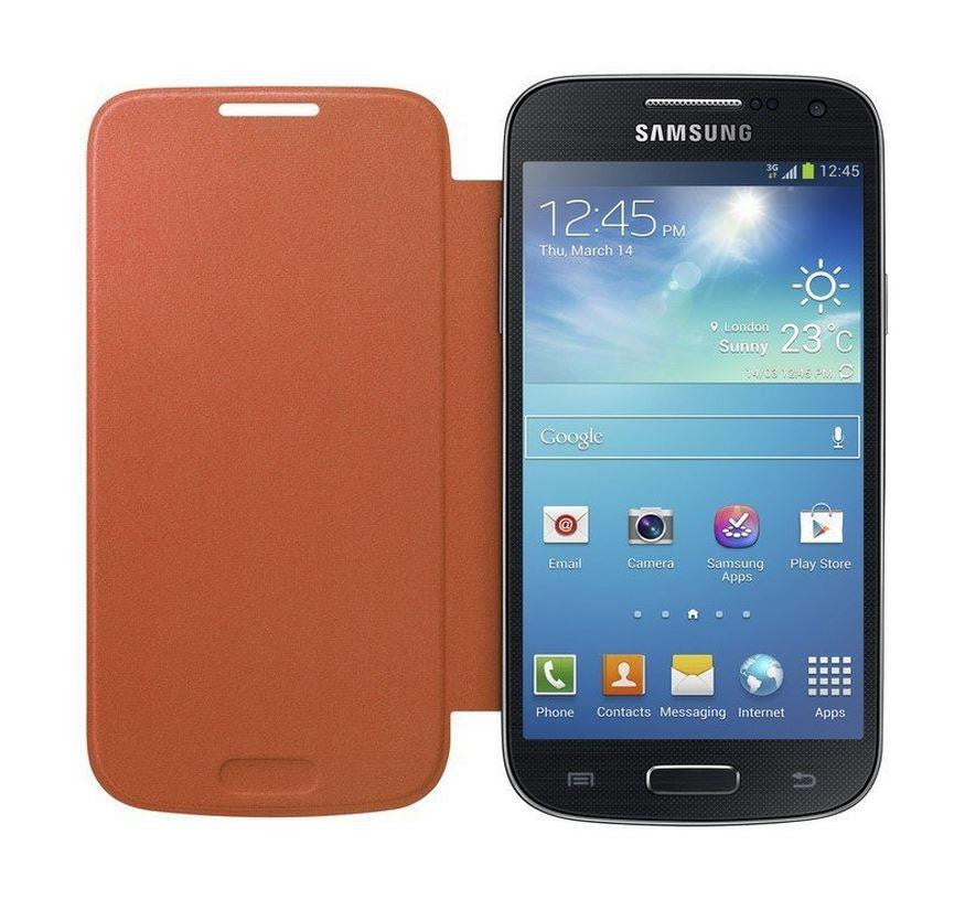 Samsung Galaxy S4 mini Genuine Samsung Cover  - Orange 2