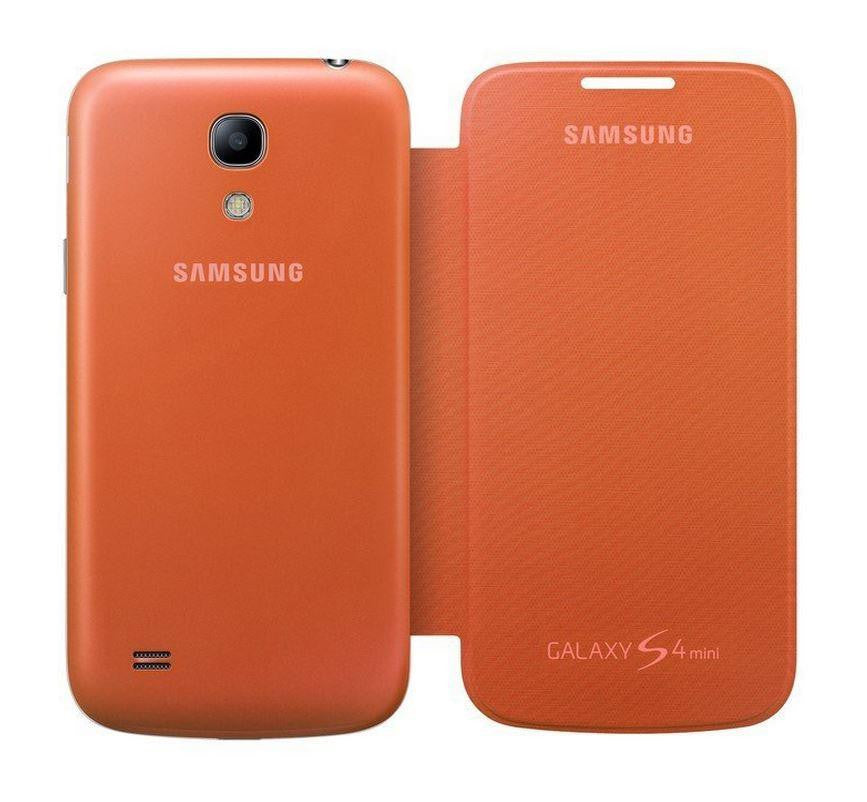 Samsung Galaxy S4 mini Genuine Samsung Cover  - Orange 3