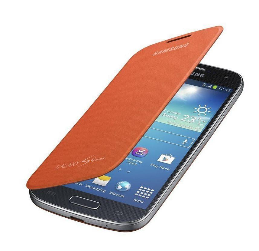 Samsung Galaxy S4 mini Genuine Samsung Cover  - Orange 4