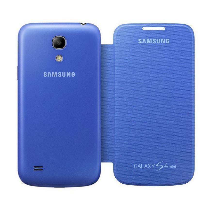 Samsung Galaxy S4 mini Genuine Samsung Cover - Sky Blue 3