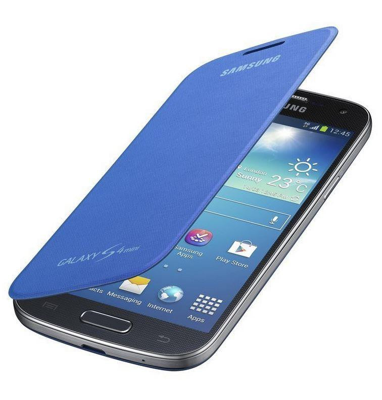Samsung Galaxy S4 mini Genuine Samsung Cover - Sky Blue 4