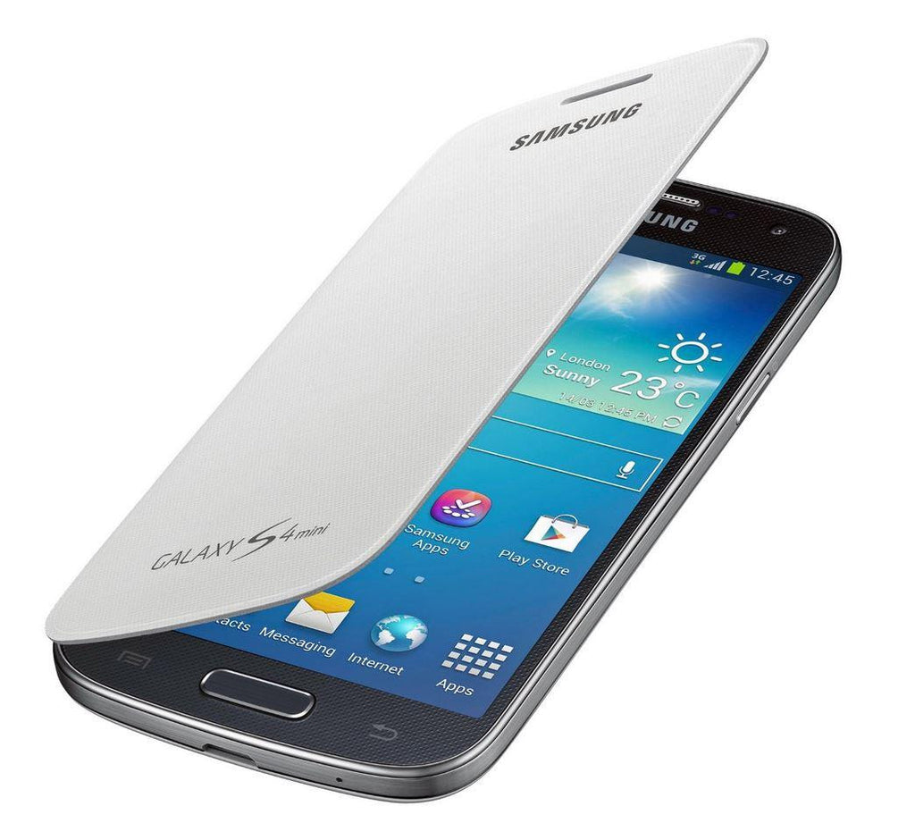 Samsung Galaxy S4 mini Genuine Samsung Cover - White 1