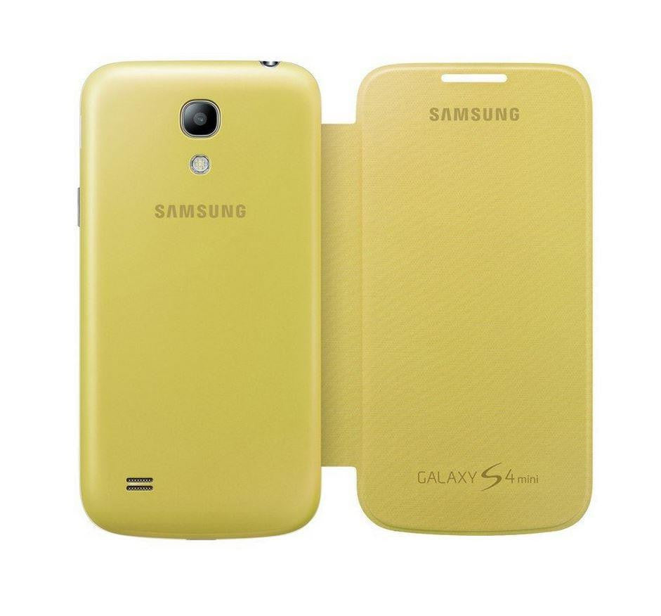 Samsung Galaxy S4 mini Genuine Samsung Cover  - Yellow 3