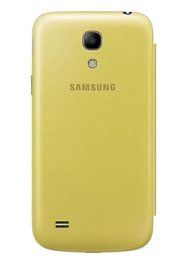 Samsung Galaxy S4 mini Genuine Samsung Cover  - Yellow 4