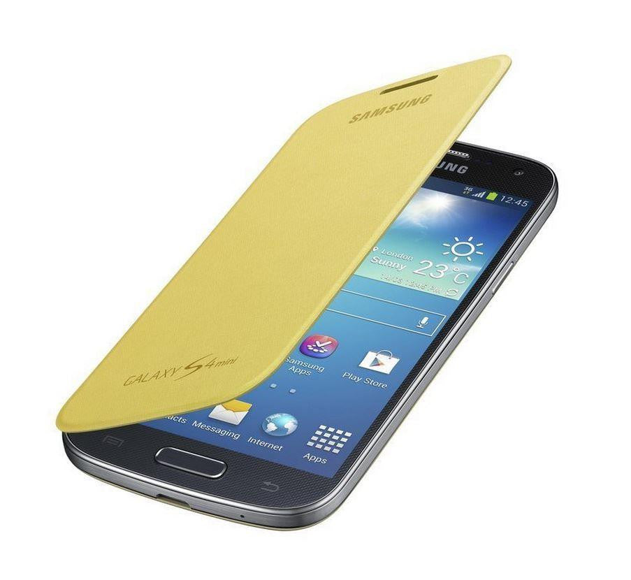 Samsung Galaxy S4 mini Genuine Samsung Cover  - Yellow 5
